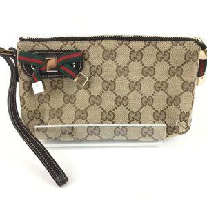 Gucci 162846 GG Fabric Princy Wallet